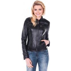 Giorgio Di Mare dámská kožená bunda GI8002685 black alternativy ... aedce557a7b