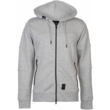 Crosshatch Full Zip jacket pánská Lt Grey Marl