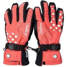 Nordic dámske rukavice na dotykový displej red