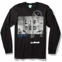 LRG High City Life LS Tee Black tričko