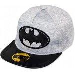 bac0de108f0 Setino Kšiltovka snapback Hip Hop Batman šedo   černá