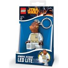 Přívěsek na klíče LEGO LED Star Wars Admirál Ackbar svítící figurka