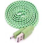 Omega OUFBFCG micro USB, 1m, zelený