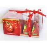 Liran Vánoční kolekce pyramidových čajů v dárkovém balení se stužkou 12 ks