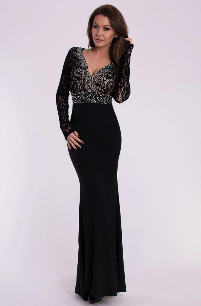 ca763fcd1fc2 Plesové šaty Eva   Lola dámské plesové a společenské dlouhé šaty ...
