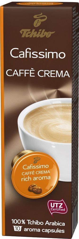 Recenze Tchibo Cafissimo Caffé Crema rich aroma 10 ks