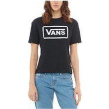 Dámské tričko Vans BOOM BOOM BOXY Black 61a982649b