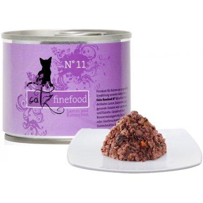 Petnature Catz Finefood No.11 s jehněčím & králičím m. 200 g