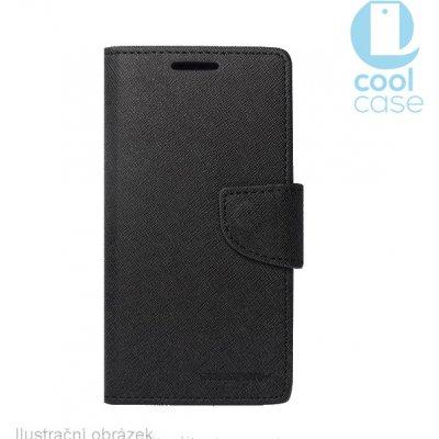 Pouzdro Fancy Book - Meizu MX6 černé