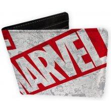 CurePink Peněženka Marvel Universe vinyl ABYBAG223]