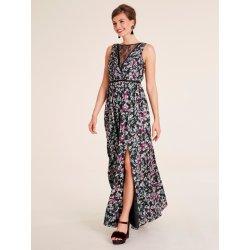c3c1fb09bbb2 heine TIMELESS večerní šaty s vysokým rozparkem černá