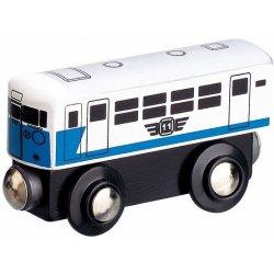osobní vagón bílý