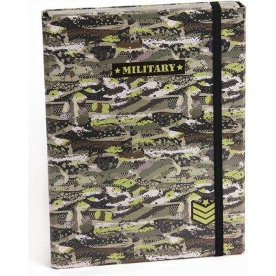 Stil s klopou A5 Military 1524031