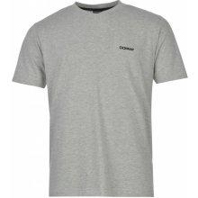 Donnay V Neck T Shirts Mens Silver Marl