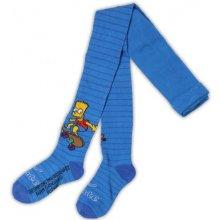 E plus M chlapecké punčocháče Bart Simpsons - modré