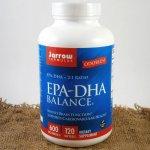 Jarrow Omega-3 EPA-DHA Balance rybí olej 120 cps.