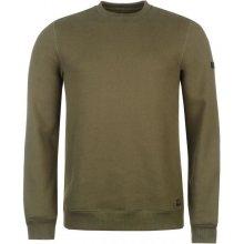 Firetrap Crew Neck Sweater Mens Khaki