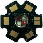 HighPower LED Star-FR740-10-00-00 1000 mA 9,6 V třešňově červená