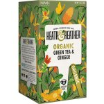 Heath & Heather Organic Green Tea & Ginger ALU 20 sáčků