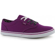 Vans Atwood Low Canvas Trainers Purple/White