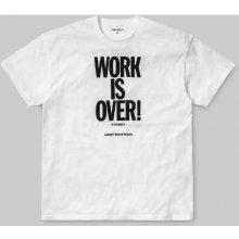 Carhartt WORK IS OVER bílá