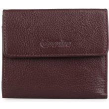 Esquire Dámská kožená peněženka 121405 vínová