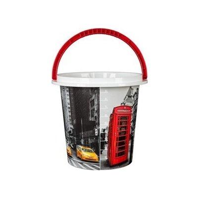 Brilanz Auta kbelík plastový 29 x 27,5 cm 10 l