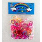 Loom Bands - gumičky barevné mix 200 ks