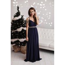 Eva   Lola společenské šaty Serena tmavě modrá 768c4b55b9a