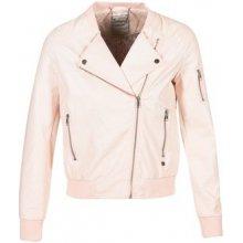 Kaporal Alare kožená bunda růžová