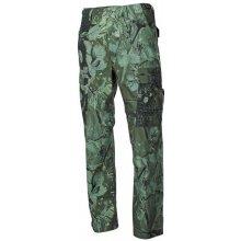 MFH BDU pánské kalhoty Rip-Stop Real tree hunter-grün