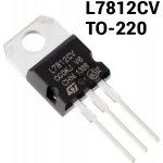 L7812CV 1.5A +12V TO-220 Lineární napěťový regulátor