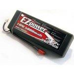 EZPOWER LIPO 7.4V 5000mAh 40C HARD CASE - DEAN