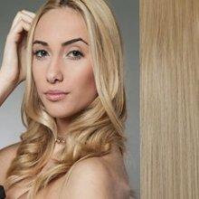 Clip in vlasy - sada - 57 cm, 7 - dílná, odstín 24 - světlá popelavá blond