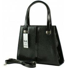 Dawidex kabelka lakovaná do ruky černá