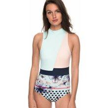 382c7f4c567 od 596 Kč · Roxy Jednodílné plavky Pop Surf Fashion One Piece Blue Light  Rain Daze Small ERJX103115-BEK7