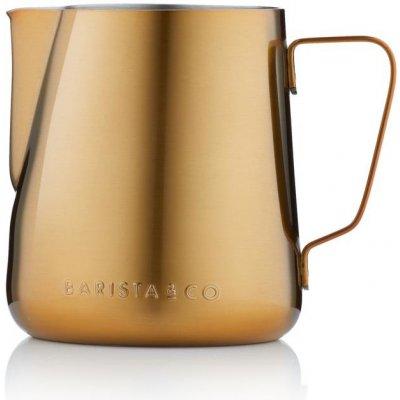 Barista&Co konvička na mléko Core zlatá 420 ml