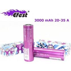 EFest Baterie IMR 18650 HD 35A 3000 mAh s plochým polem