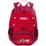 Scout dětský batoh, ergonomický, tři koníci