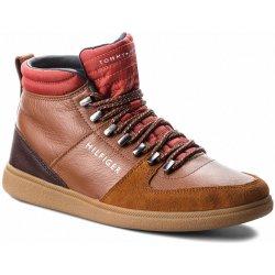 Kotníková obuv TOMMY HILFIGER Core Hiking Inspired FM0FM01836 Cognac ... 3f2dabd493