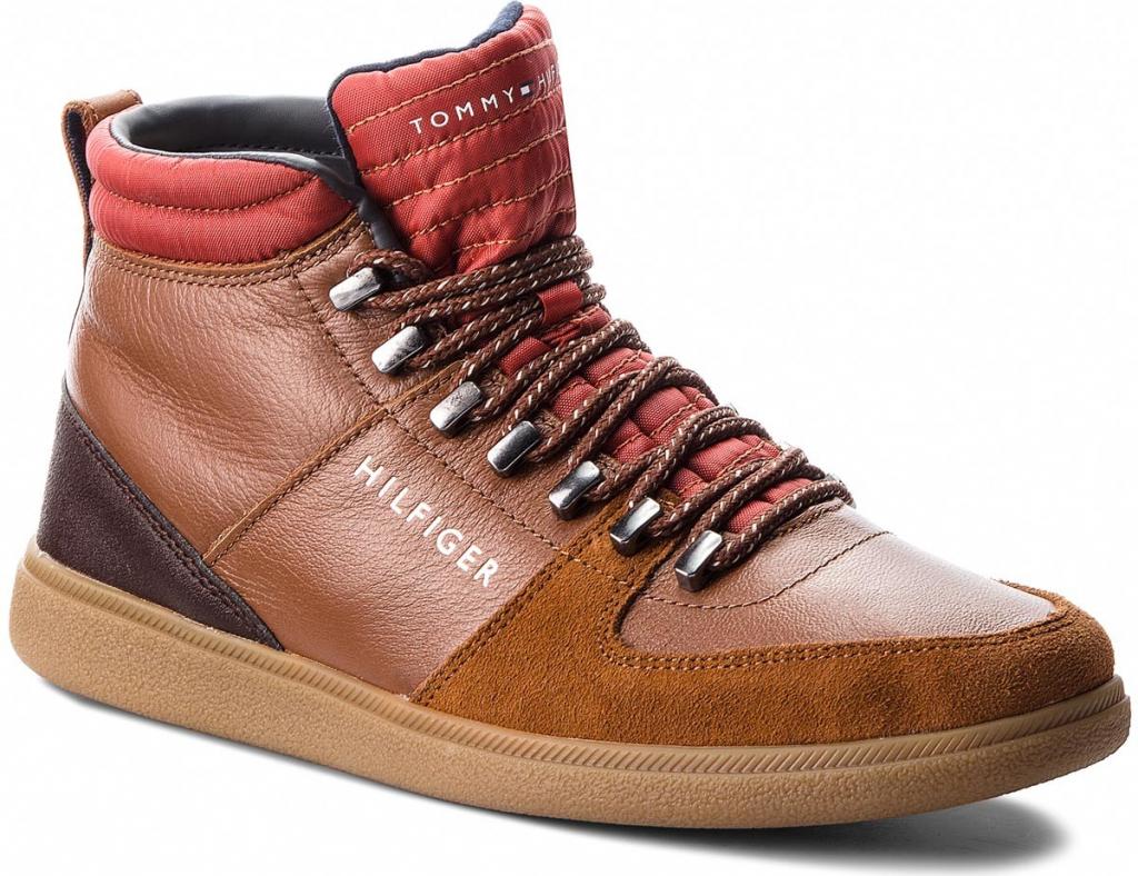 Kotníková obuv TOMMY HILFIGER Core Hiking Inspired FM0FM01836 Cognac 606 od  3 290 Kč - Heureka.cz 6825b8c3fc