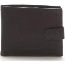Delami Pánská kožená černá peněženka 9371 černá
