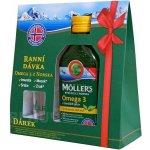 Möller's Omega 3 olej citronová příchuť 250 ml