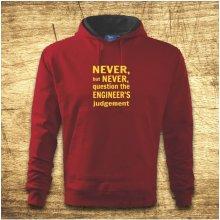 Never but never... Červená