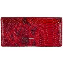 GIUDI dámská červená kožená peněženka 7177 TRP MUL,