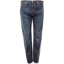 Levi's jeans 501 fit modré