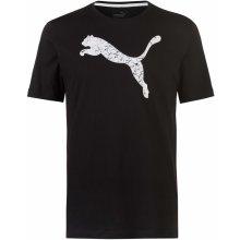 34f2d1bda1d3 Puma Big Cat QT T Shirt Mens Black