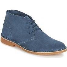 Selected Kotníkové boty SHH ROYCE LIGHT SUEDE BOOT Modrá