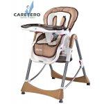 CARETERO Jídelní židlička BISTRO 2015 cappuccino