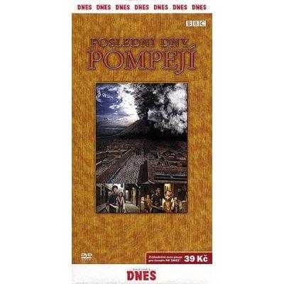 DVD - Poslední dny Pompejí